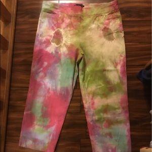 Tie dye Capri from Zac & Rachel
